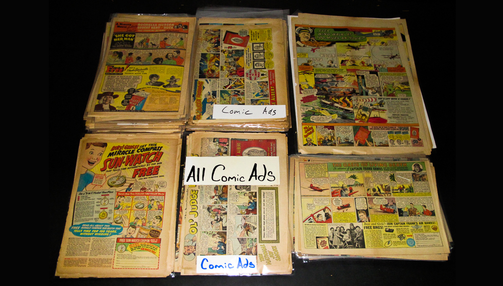 Comic Strips From EBAY - ads