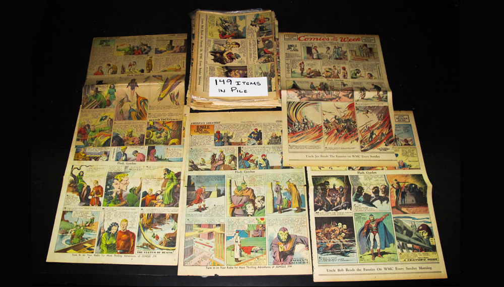 Comic Strips From EBAY - flash