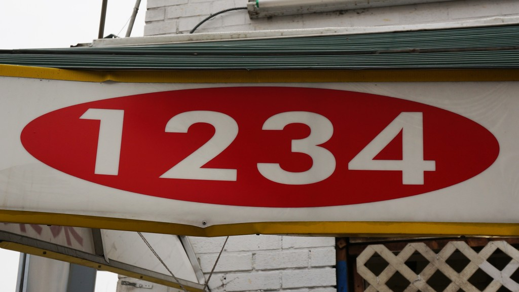 1234 Important Address