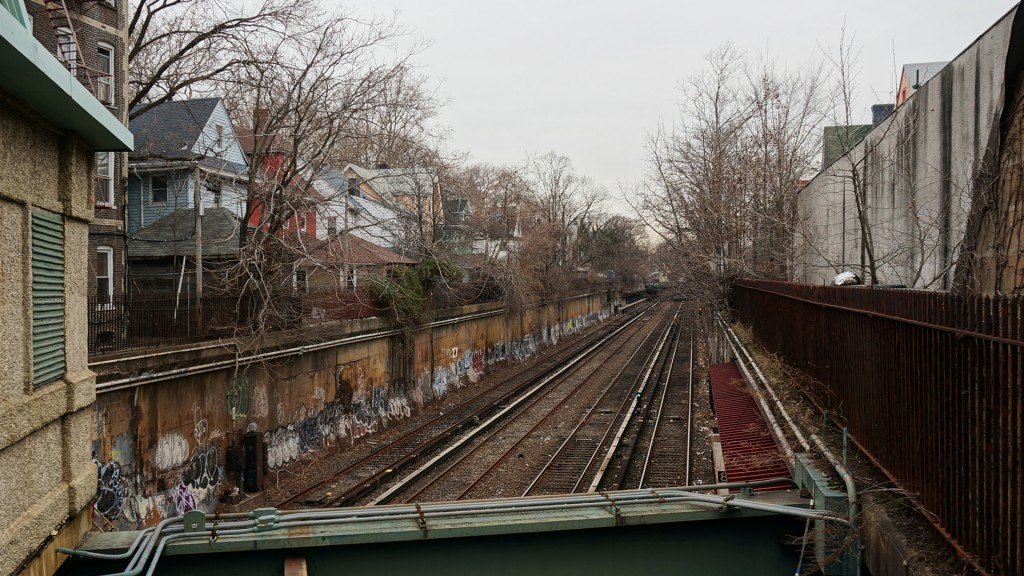 6th boro TRAIN TRACKS Cortelyou