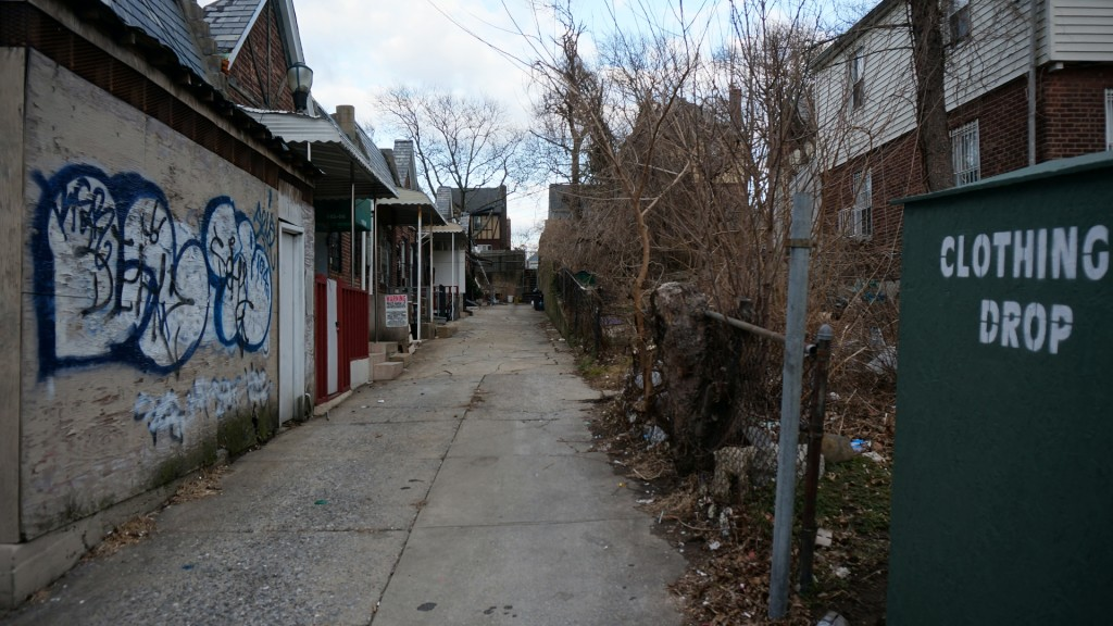 Alleyway in Whitestone