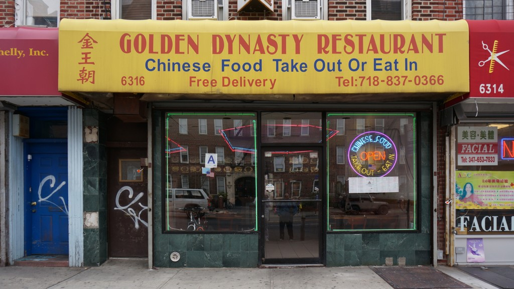 Chinese Take-out - Golden Dynasty