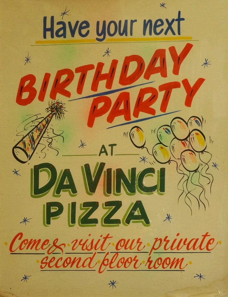 Pizza Birthday Party