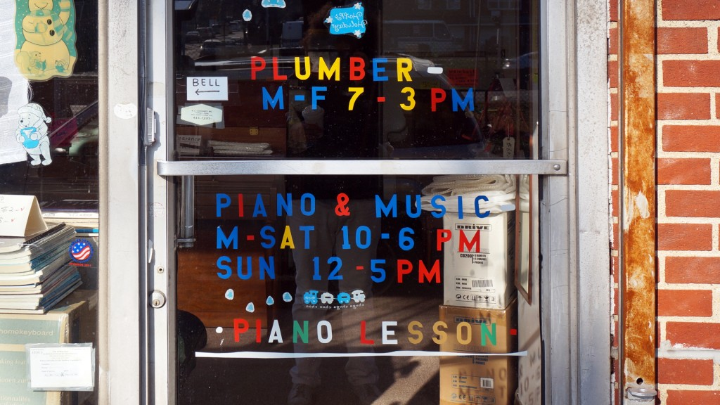 Plumber and Piano