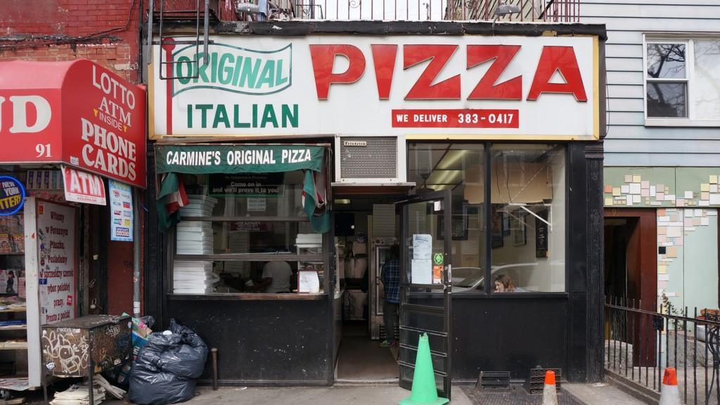 STOREFRONT - Original Italian Pizza