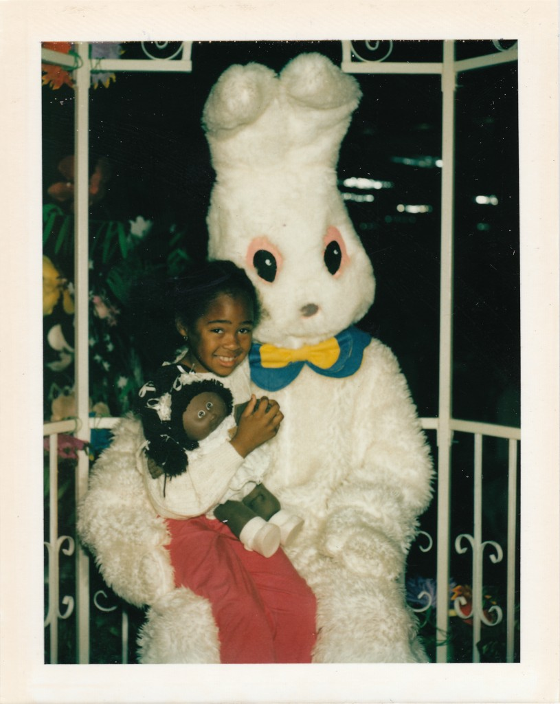 Easter Bunny - Gilr With Cabbage Patch