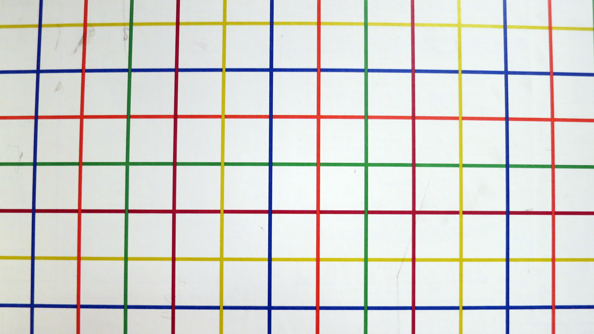 Primary Colored Graph Wall Paper | Frankie's Apartment