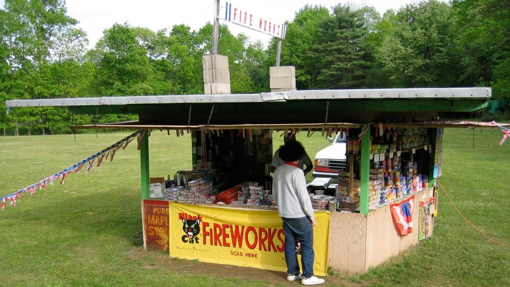frankie fireworks stand