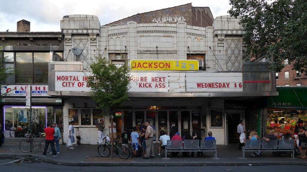 Storefront - Jackson 123 Theatre
