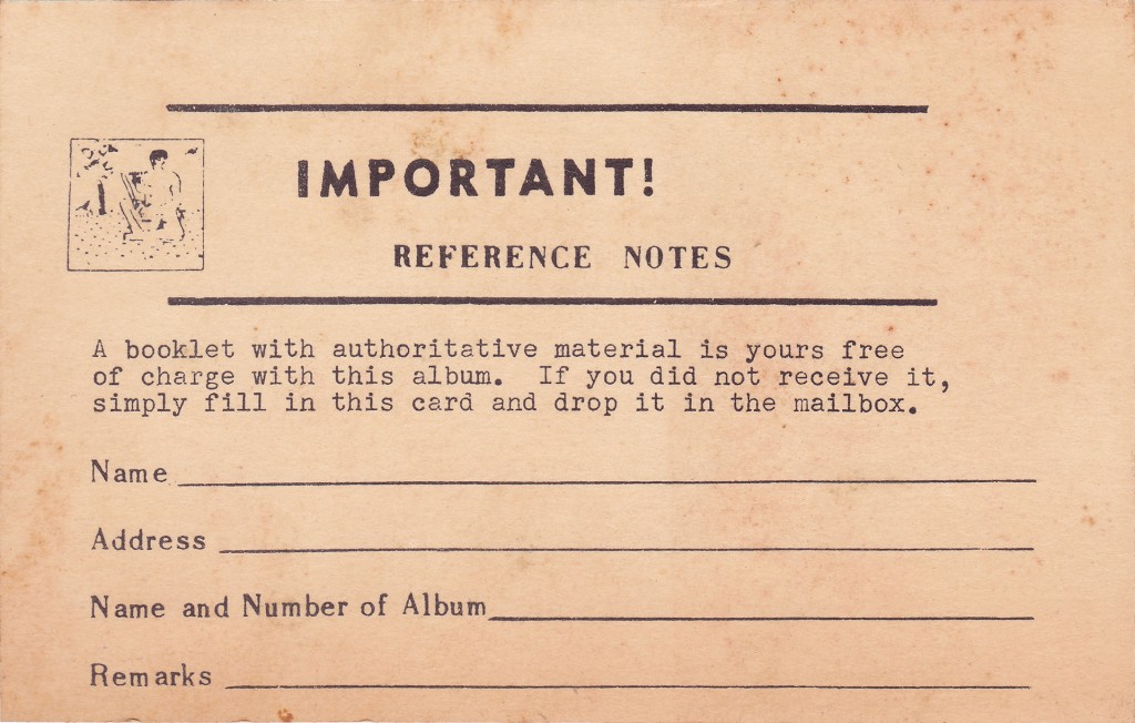 Folkways Card - Back