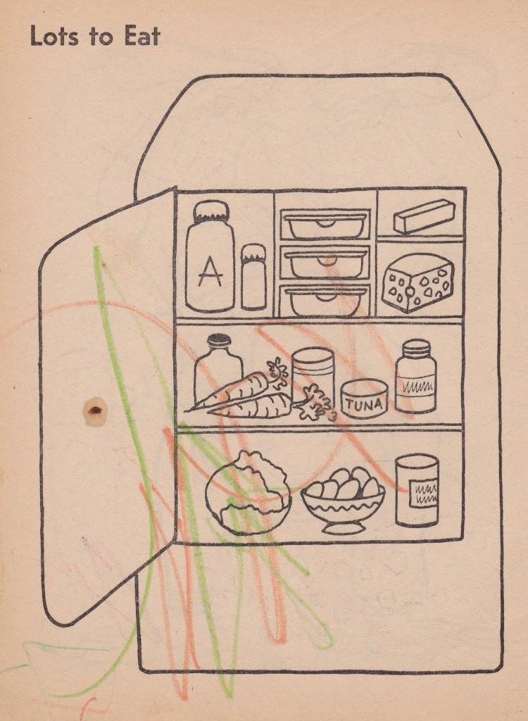 Fridge coloring book