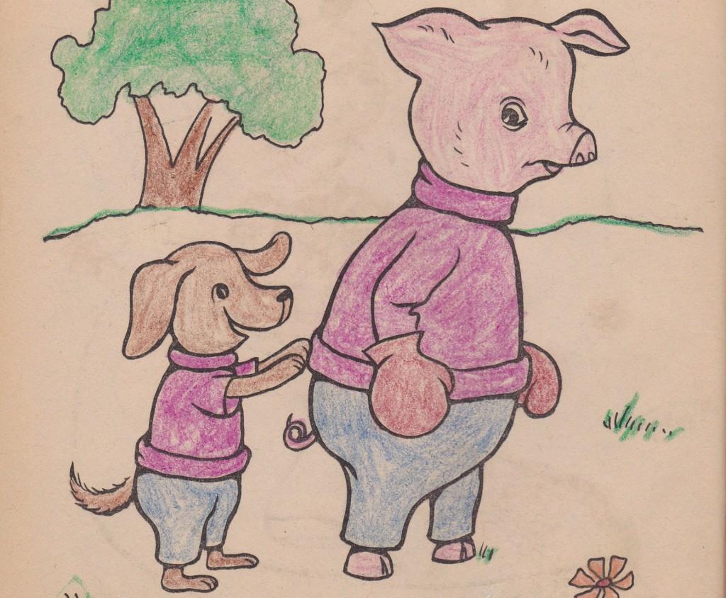 pig dog boxer