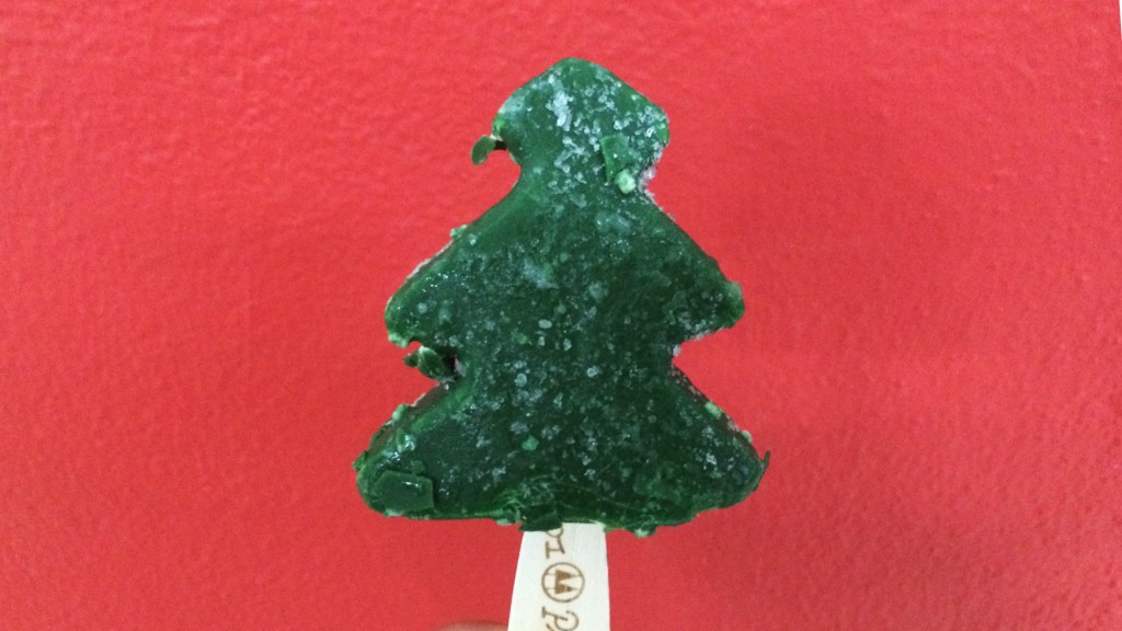 xmas tree ice cream