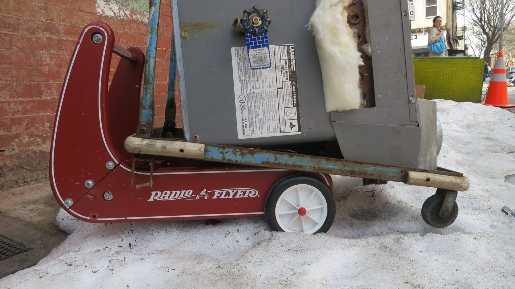 Nordle vac radio flyer