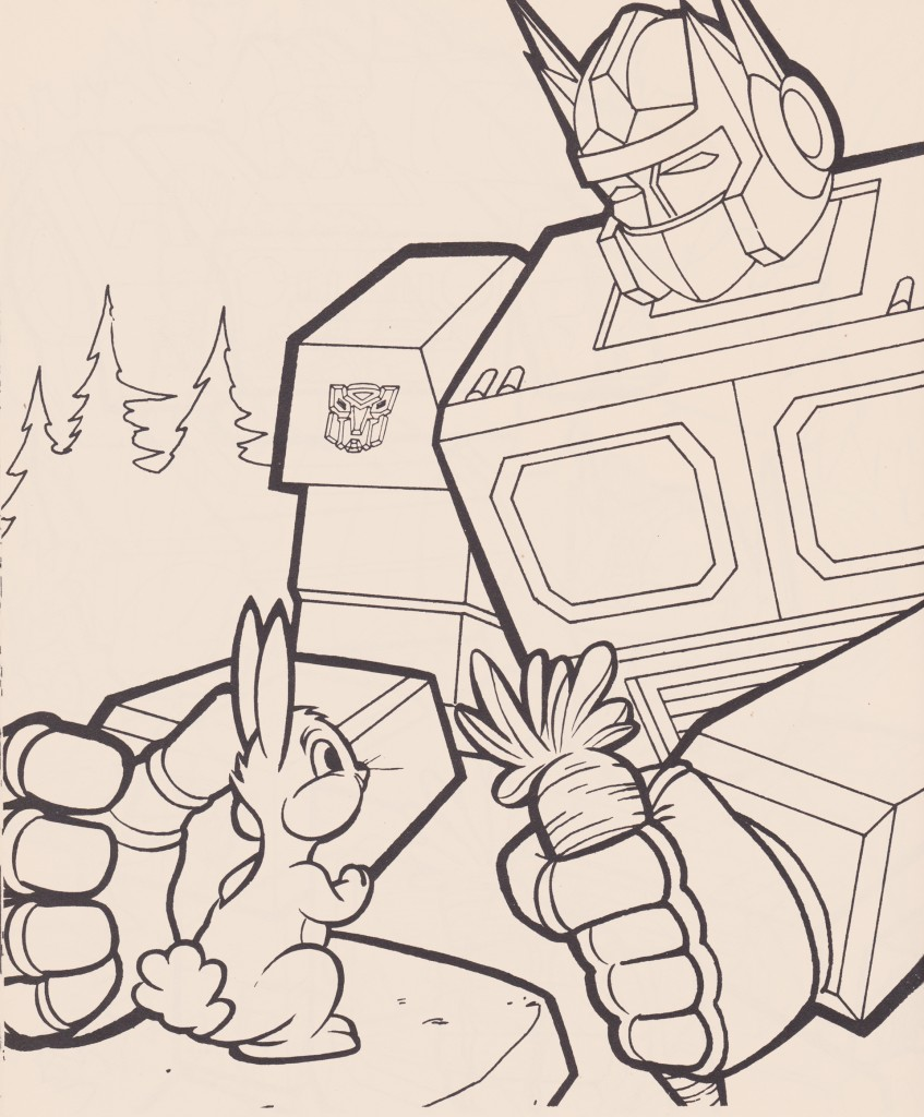 Optimus Bunny