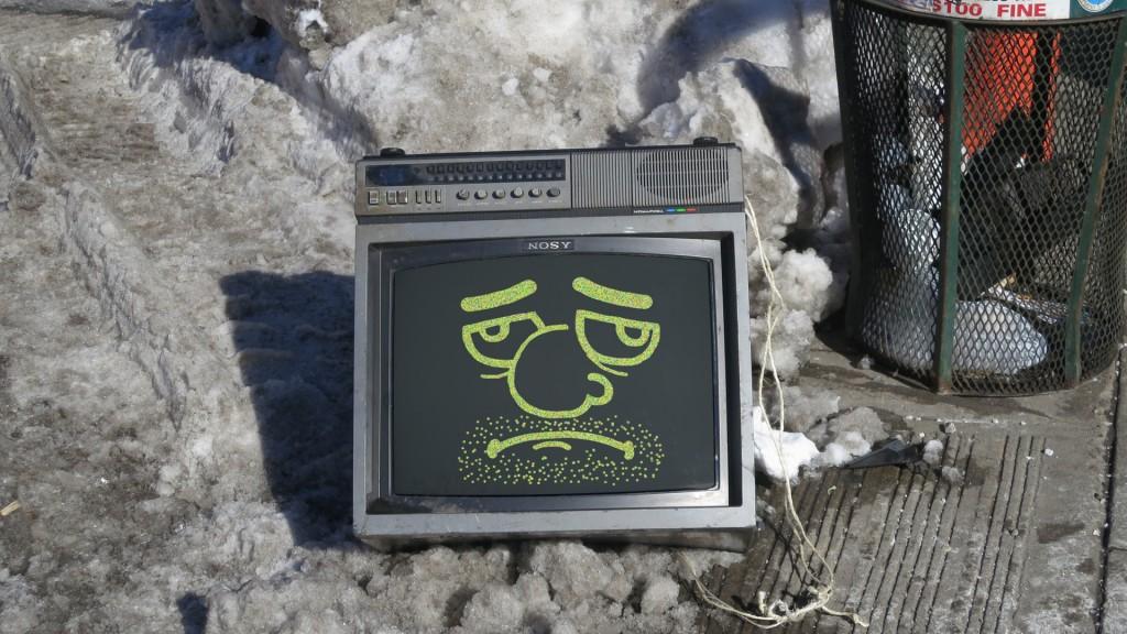 computer nosy snow