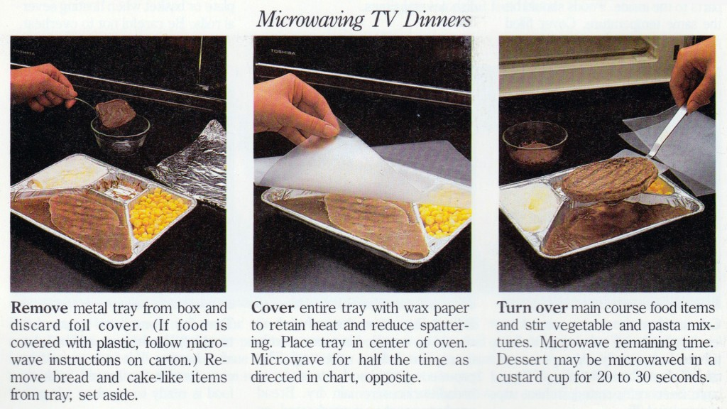 how to microwave tv dinner